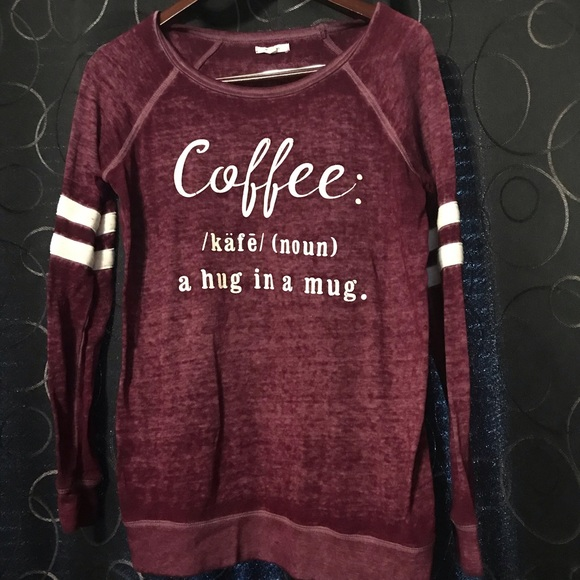 "Maurices Sweaters - ""Coffee"" sweater"